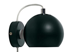 BALL VEGGLAMPE, Ø12 MATT PINE GREEN