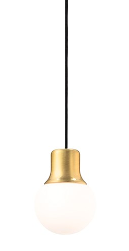 MASS LIGHT PENDANT NA5, BRASS