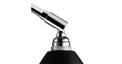 Bestlite bl2 bordlampe - krom/sort